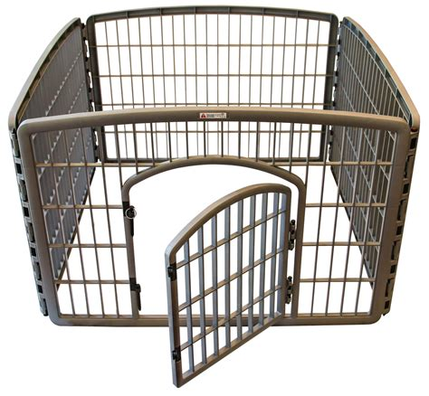 puppy playpen grey pet playpen with gate shop playpens