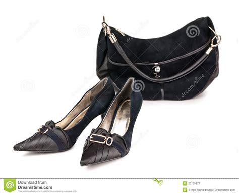 Shoe Unlimited Sr 5003 Black shoes and handbag stock image image of black classic 20155677