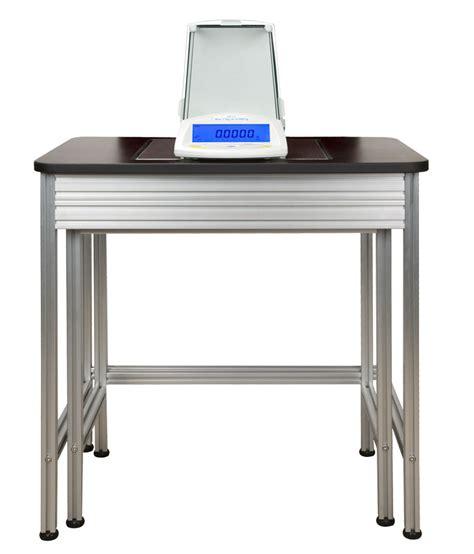 table anti vibration table anti vibrations adam 8036 pour pesage de laboratoire