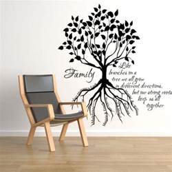 tree sticker for wall family tree root names wall decals trading phrases