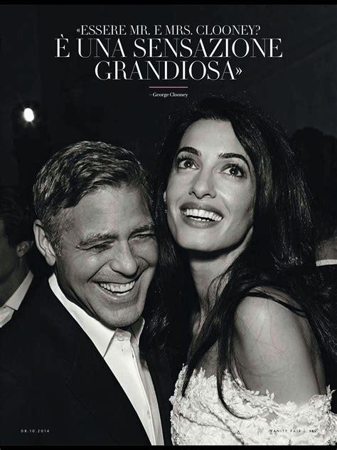 George Clooney Vanity Fair by Vanity Fair Amal Clooney Style