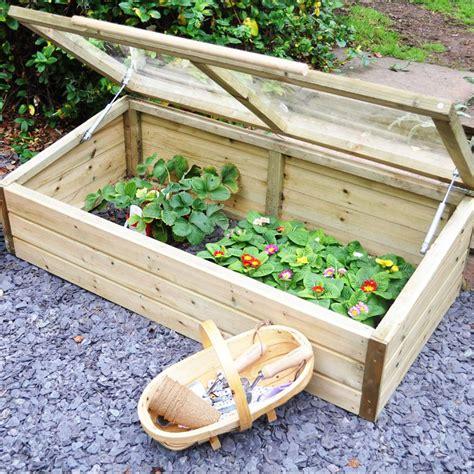 cold frame design uk forest garden easy lift wooden cold frame internet gardener