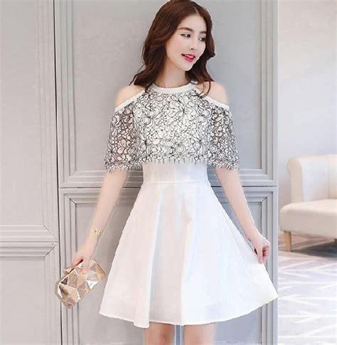 desain dress ala korea 4 mini dress ala korea yang sukses bikin pangling di pesta
