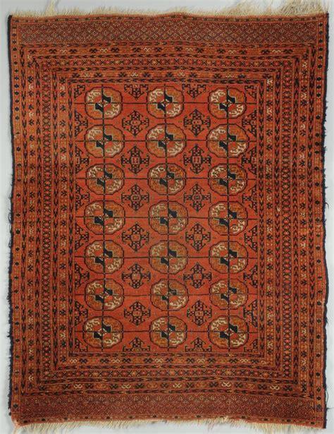 Turkoman Rugs by Lot 701 Tekke Turkoman Bokhara Rug 4 2 Quot X 3 3