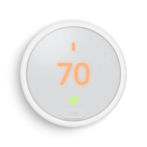 nest thermostat e white t4000es the home depot