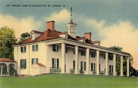 mt vernon home of washington mount vernon va