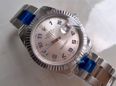 Rolex Chronographe Silverwhite swiss replica rolex datejust ii