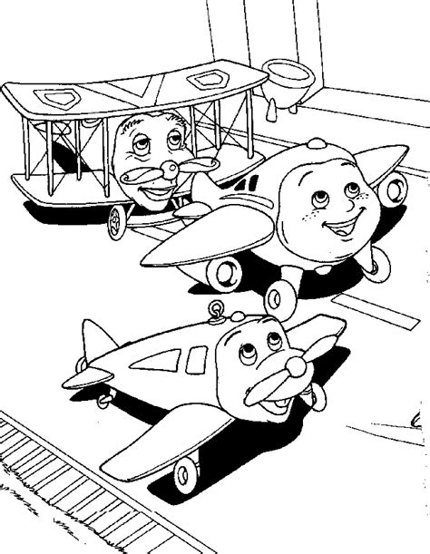 jay jay the jet plane coloring pages coloring pages