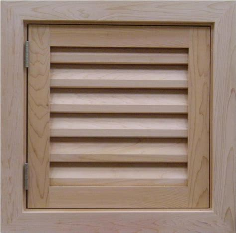 Door Vents Louvers Vents And Grilles For The Hvac Industry Wood