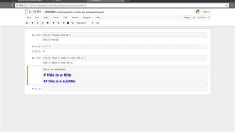 docker usage tutorial jupyter notebook docker tutorial youtube
