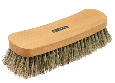 a brush with the saphir large shoe brush pediwear accessories