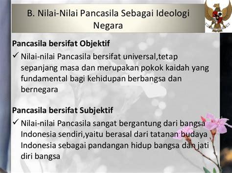 Pokok Pokok Ilmu Sosial Dan Budaya Dasar Pada Kebidanan pancasila sebagai ideologi dan dasar negara