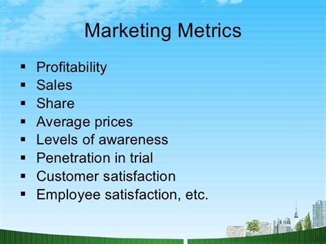 Kpi For Sales Mba by Marketing Strategy Ppt Mba