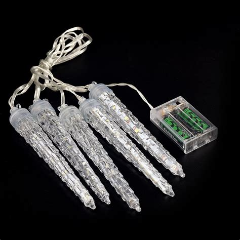 halloween decorations led christmas icicle shaped lights