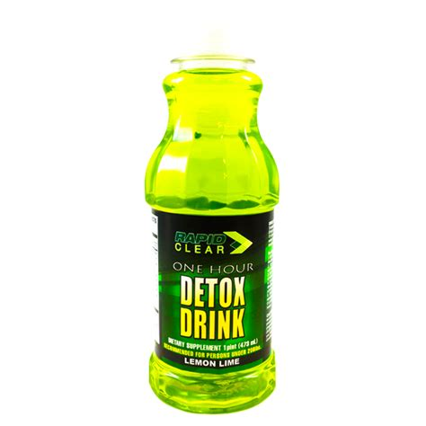 Detox Drinks For by Rapid Clear Lemon Lime Detox Drink