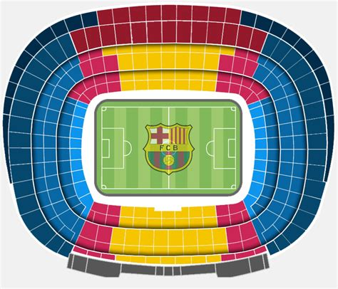 c nou stadium seat map the official seating categories at the c nou fc barcelona