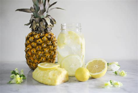 Detox Water Recipes With Pineapple by Pineapple Mint Detox Water