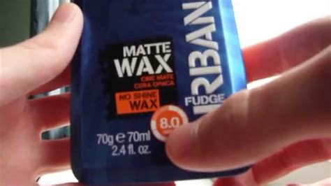 matt wax fudge matt wax review