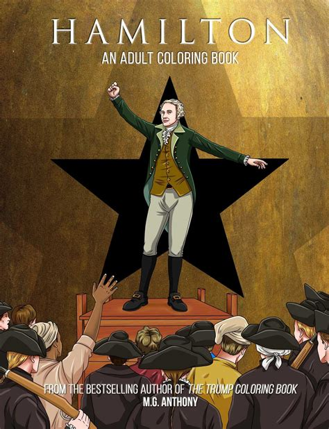 gifts for hamilton fans hamilton coloring book fandom gifts