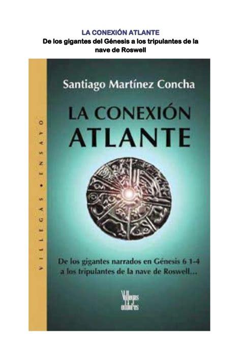 critias o de la atlantida edition books martinez concha santiago la conexion atlante mistica y