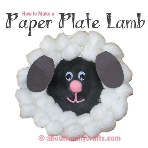 How To Make Paper Sheep - free crafts