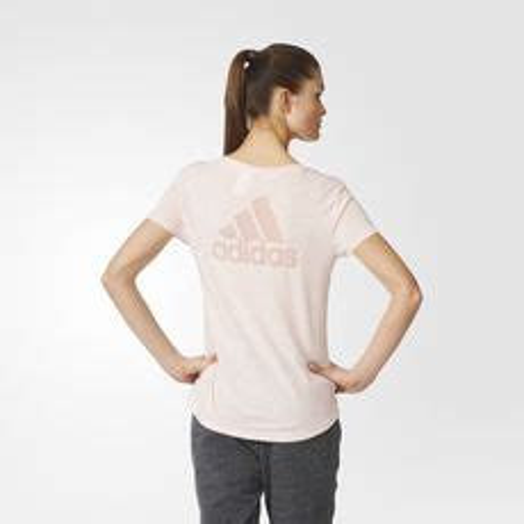 Adidas Logo V Neck Vapour Pink Original adidas s clothing apparel jerseys adidas clothing