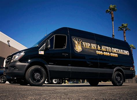 affordable automotive detailing sprinter vans mercedes sprinter wrap for vip rv auto detailing