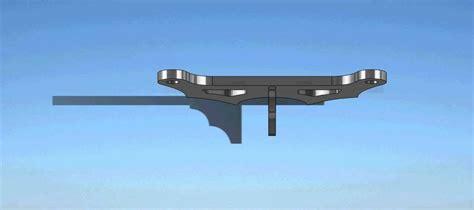 ton rockwell disk brake conversion mounts  rearnon