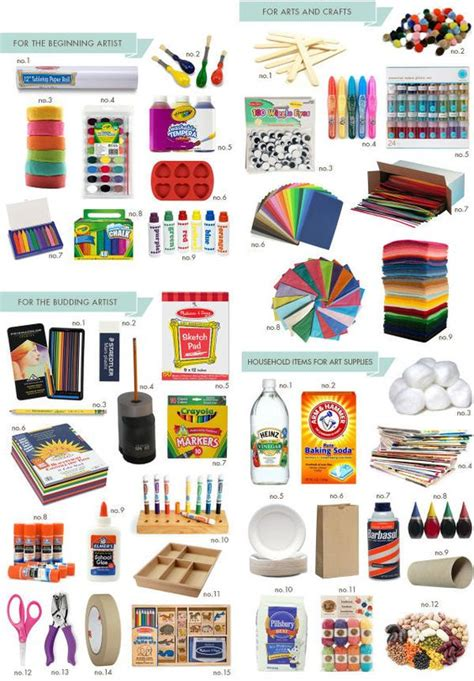 craft room supply list must supplies hellobee supplies craft rooms and things to