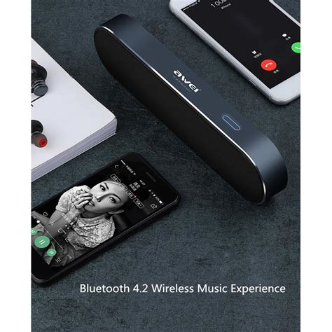 Awei Portable Bluetooth Speaker Y220 Awei Portable Bluetooth Speaker Y220 Black Jakartanotebook