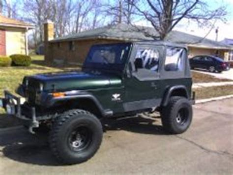 Used Jeep Wrangler For Sale In Ohio Jeep Lights 1995 Mitula Cars