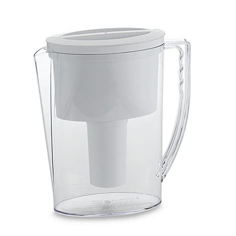 brita bed bath and beyond brita 174 water filtration slim pitcher bed bath beyond