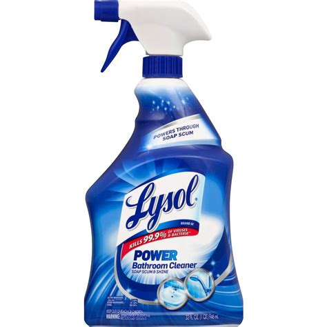 lysol  oz bathroom cleaner trigger    home depot