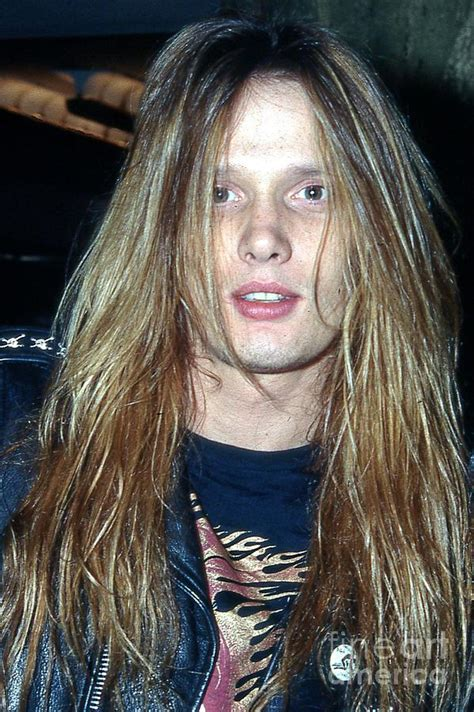 80s Home Decor sebastian bach 1990 photograph by ed weidman