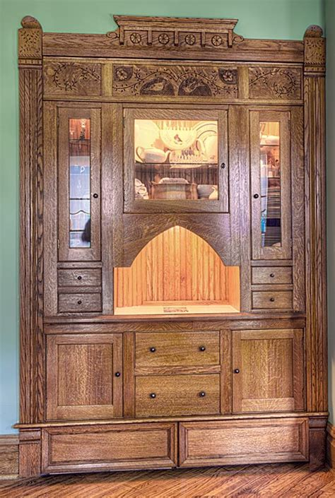 Build China Cabinet by How To Add A Built In China Cabinet House