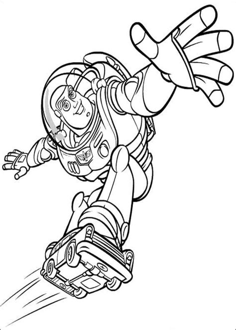 Buzz Lightyear Coloring Pages Coloring Pages To Print Buzz Lightyear Coloring Page