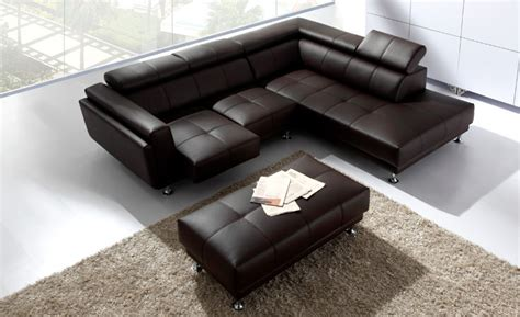 l shaped ottoman free shipping 2013 latest italy design genuine leather l
