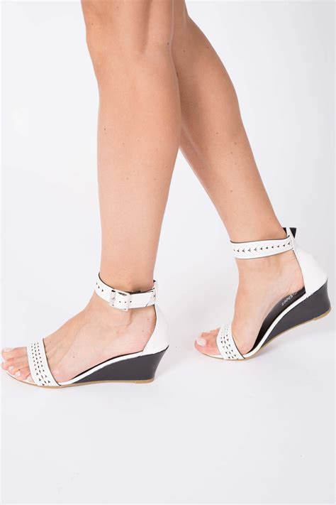 Wedges T 1 3 8 Hitam Limited new womens wedges heel platform ankle sandal shoes uk size 3 8 ebay