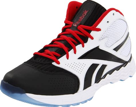 reeboks basketball shoes reebok reebok mens thermalvibe 15 basketball shoe in black