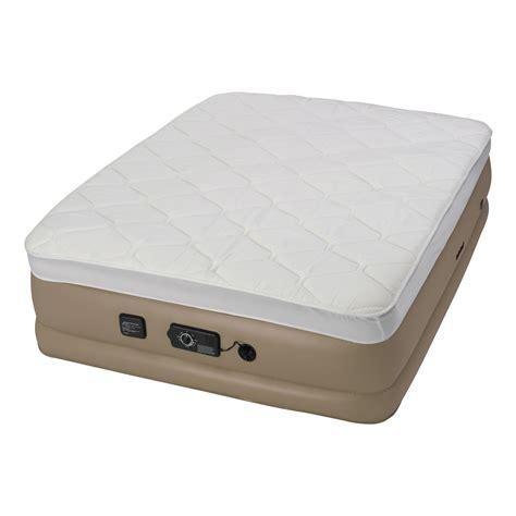 insta bed raised pillow top air mattress queen air