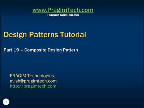 design pattern c video tutorials sql server net and c video tutorial composite design