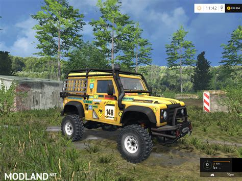 land rover dakar land rover defender dakar v 2 0 mod for farming simulator