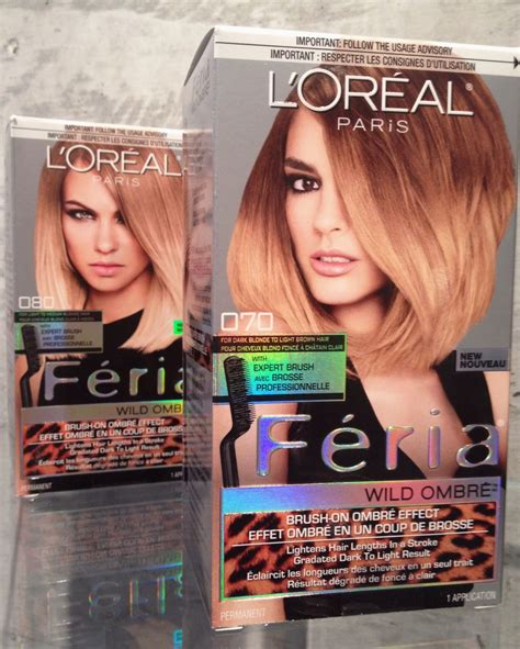 feria ombre hair color reviews my experience with l oreal paris feria wild ombr 233 makeup
