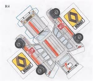 papieren l maquette 4l 2013 barge team 4l