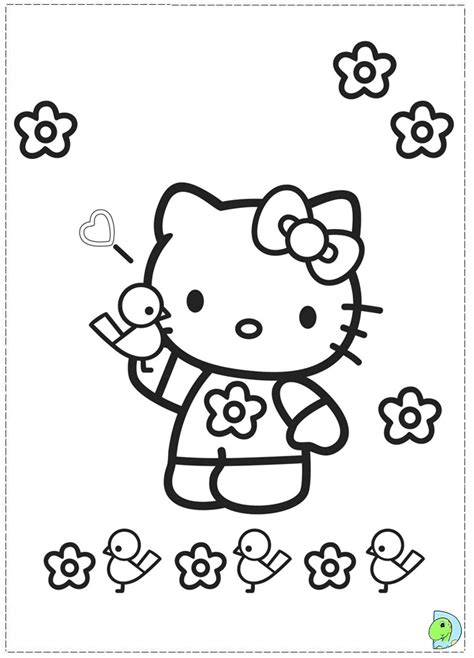 hello kitty hawaii coloring pages easy to draw hello kitty az coloring pages