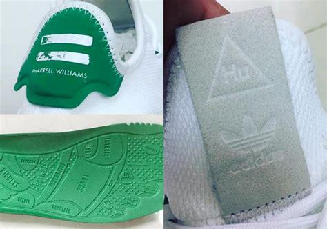 pharrell adidas human race stan smith shoe sneakernews