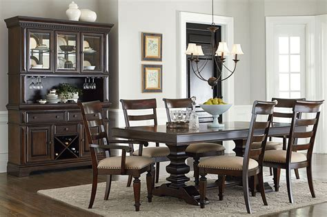 extendable trestle dining table charleston tobacco brown extendable trestle dining table