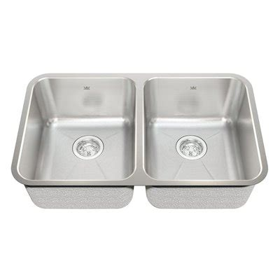 Kindred Ksd2ua 9d 18 Gauge Undermount Stainless Steel Kindred Kitchen Sinks