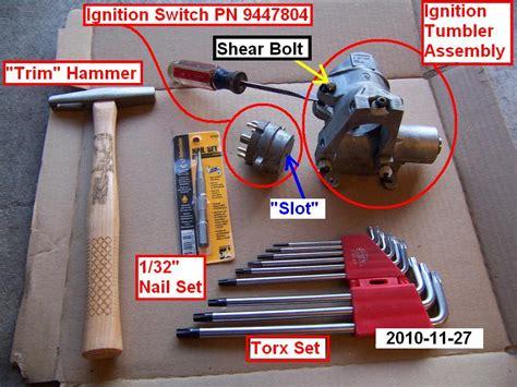 diy  volvo  ignition switch cylinder lock page  volvo forums