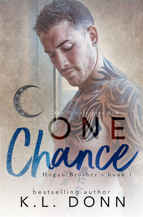 one chance books cover reveal for one chance by kl donn reads books